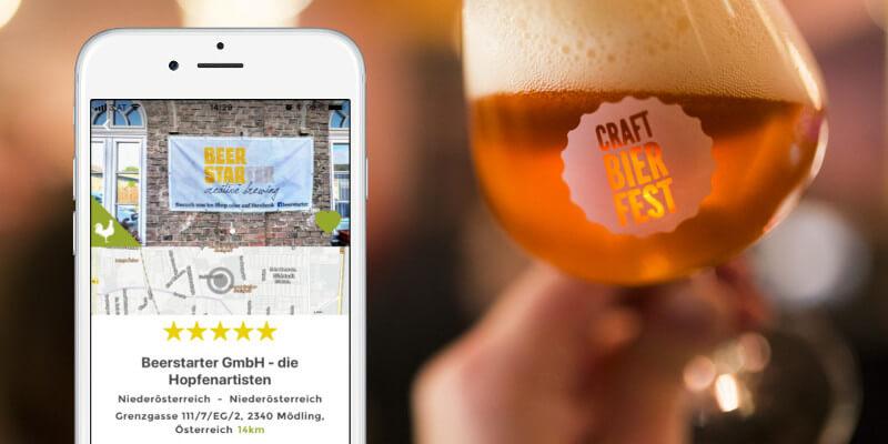 Nicht verpassen: AbHof-Partner Beerstarter am Craft Bier Fest! Foto: Craft Bier Fest/AbHof