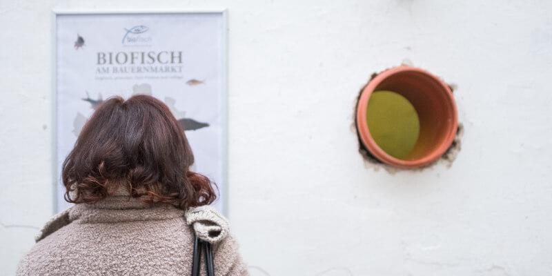 Biofisch Manufaktur Innenhof Bergsteiggasse Bio Fisch Waldviertel Karpfen Marc Mößmer