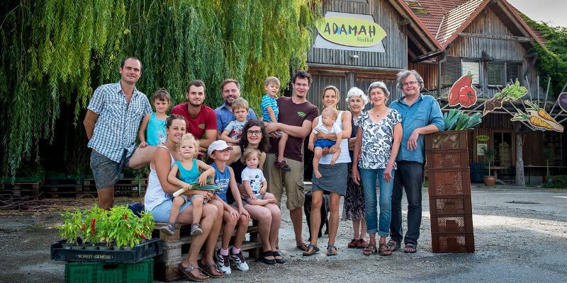 Adamah App AbHof Biohof Bio Marchfeld Glinzendorf Familie