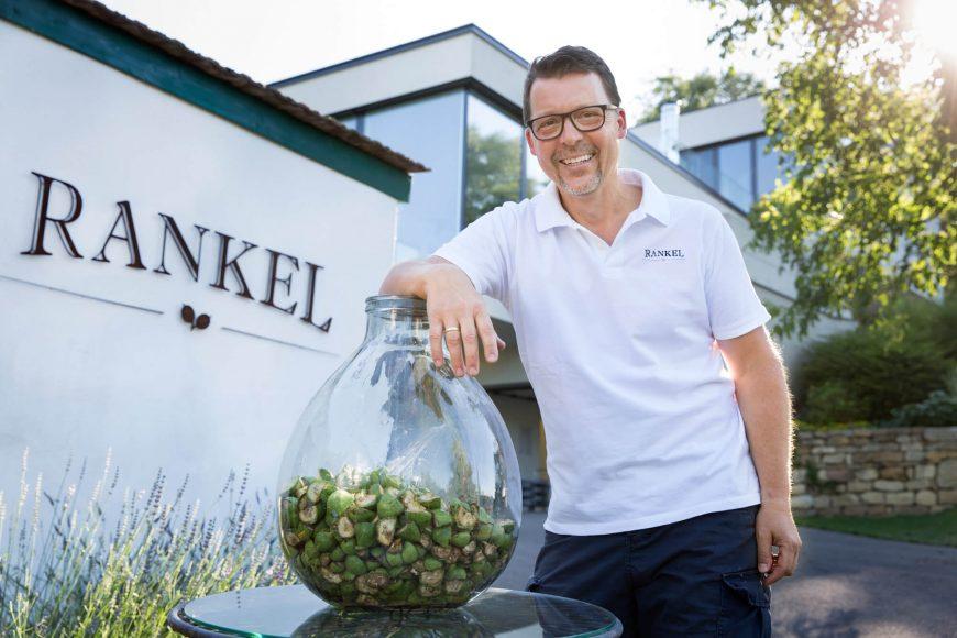 Bernhard Rankel Potzneusiedl Burgenland Carnuntum Walnusslikör AbHof