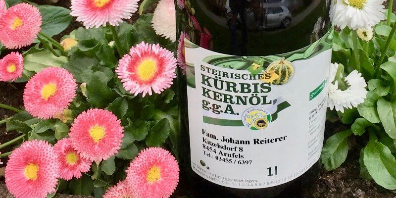 Kürbiskernöl Arnfels Reiterer Prämiert Kürbiskerne Steiermark
