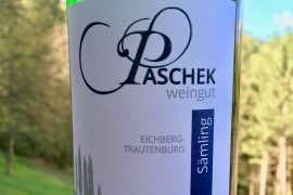 Weine Südsteiermark Eichberg Trautenburg Weingut Paschek Sämling