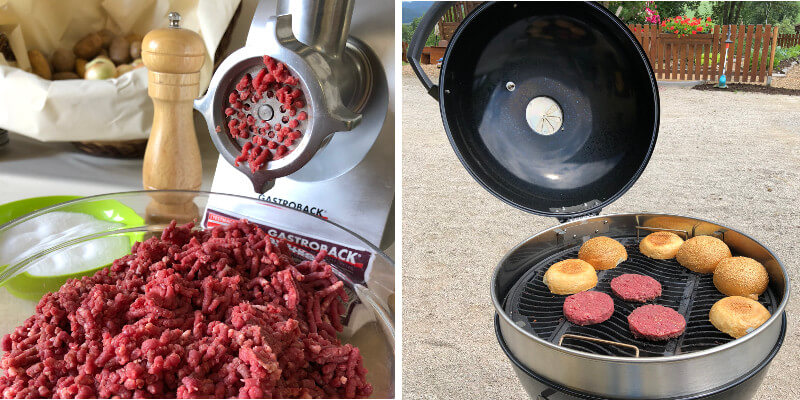 Burger Biohof Edibichl Grill Workshop Peter Zinter AbHof Napoleon