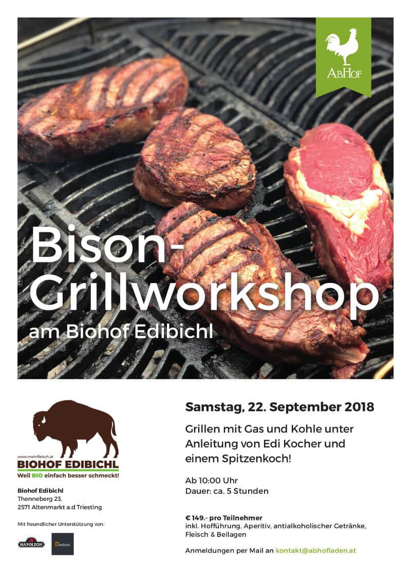 Biohof Edibichl Grillworkshop