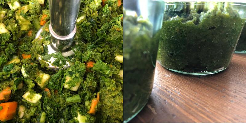 Gemüsepaste Suppengemüse Karotten Sellerie Zwiebel Rezept Paste