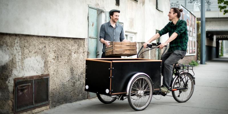 Manuel Bornbaum Florian Hofer Hut & Stiel Austernpilze Kaffeesatz Lastenrad
