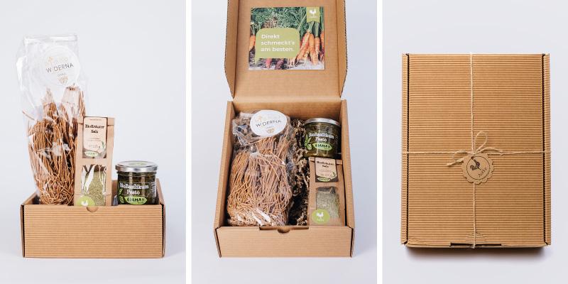 Alles in einem: Genießer-Box mit Zutaten für ein volles Gericht!Alles in einem: Genießer-Box mit Zutaten für ein volles Gericht!